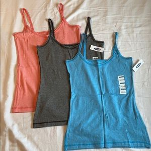 Lot of 3 Old Navy Tank Tops (All Size Small)